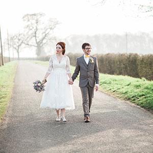 Essex wedding couple