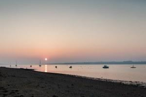 Wrabness, Essex sunset