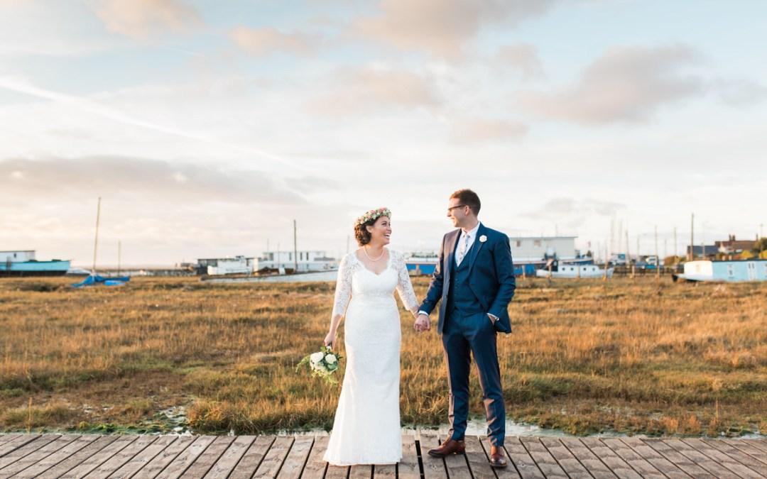 Mersea Island Wedding