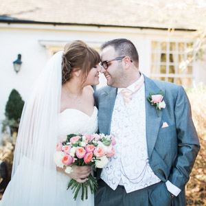 Spring wedding at The Fennes, March 2017