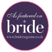 Featured on the English wedding blog badge
