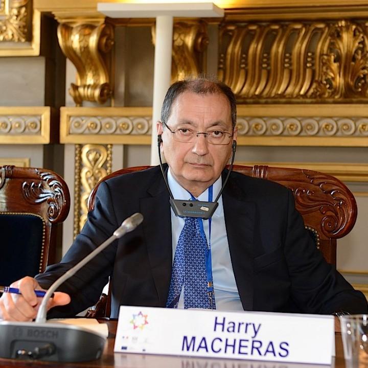 Portrait de Harry Macheras - membre du conseil d'administration de GEMME-GRECE