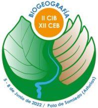 Logitpio del XII Congreso de Biogeografía