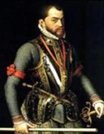 King Philip the 2nd of Spain