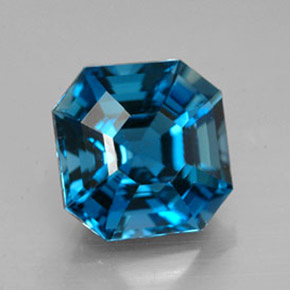 Topaz 44ct Octagon Emerald Cut From Brazil Gemstone