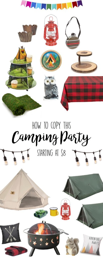 Camping Party Birthday Party Theme Ideas