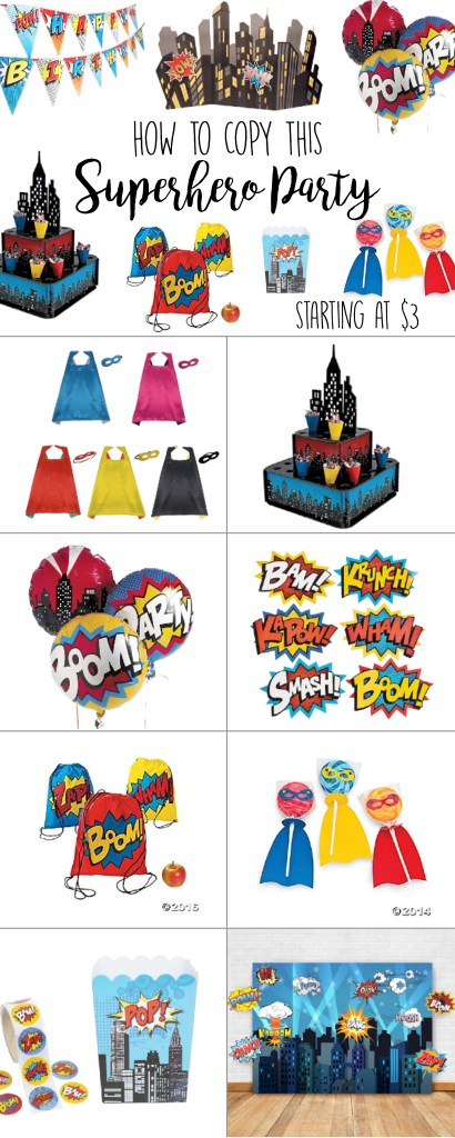 Superhero Birthday Ideas Cutest Ideas Starting At 3