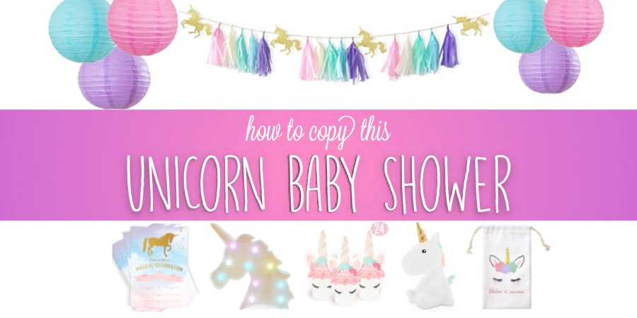 Unicorn Baby Shower Theme Ideas Magical Party Ideas