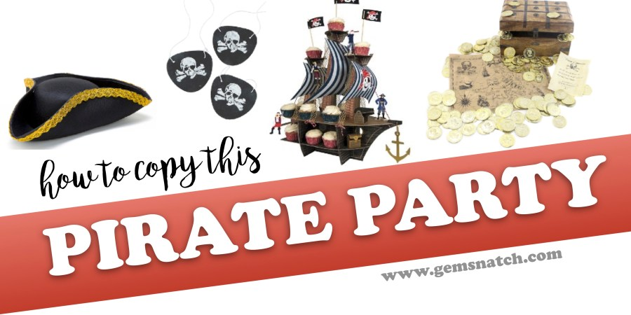 How To Copy This Pirate Birthday Party - Ideas and DIY