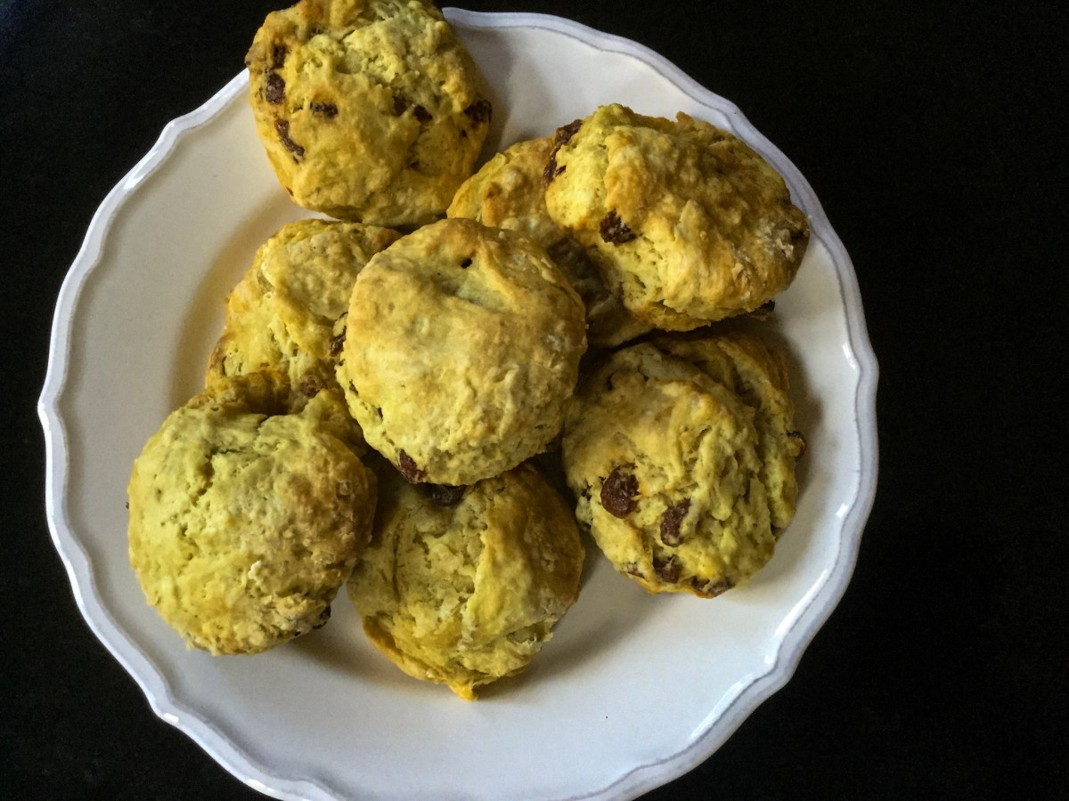 vegane Scones - Cream Tea einmal anders