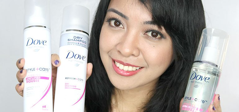 Dove Hair Theraphy - Dove Dry Shampoo 0 Mousse - Hairspray Review Tutorial - Gen-zel.com (c)