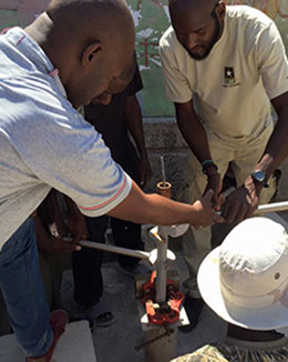 Pump Repair Merger Haiti