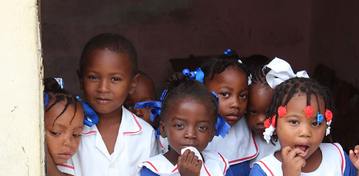 Haitian School Children