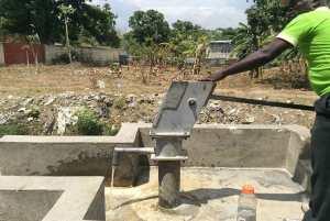 Haitian Hand Pump