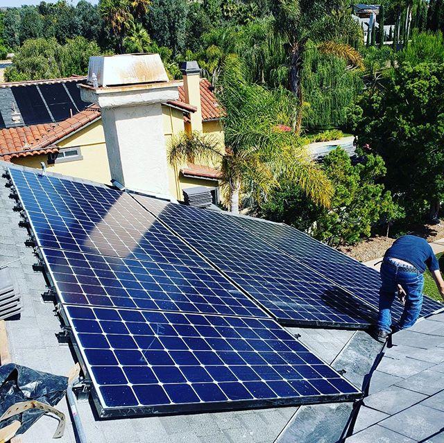 concrete tile roof with solar gen819