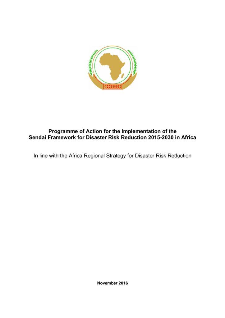 thumbnail of Africa Plan of Action sendai implementationinafrica.pdf Mauritius draft