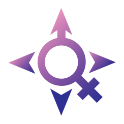 transgender map logo