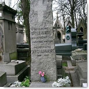 Tombe Apollinaire