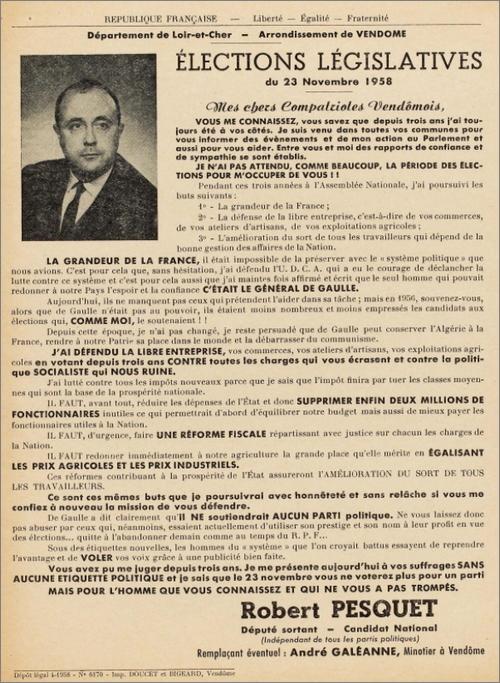 Les archives électorales du CEVIPOF Contexte