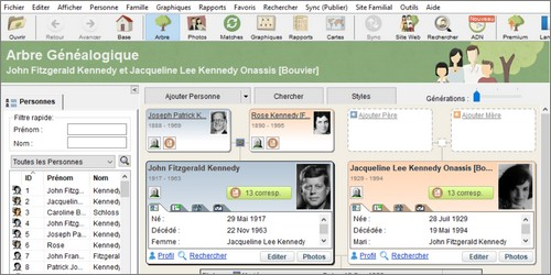 Genealogie Gratuite FamilyTreeBuilder