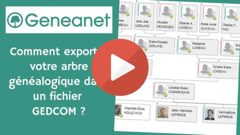Geneanet _ Comment exporter votre arbre généalogique dans un fichier GEDCOM