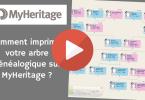 Comment imprimer votre arbre généalogique sur MyHeritage