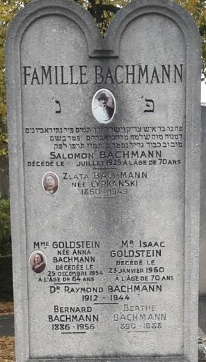 À la recherche de mon grand-père - Tombe Bechmann