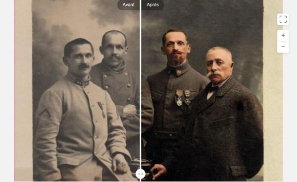 MyHeritage New colorisation
