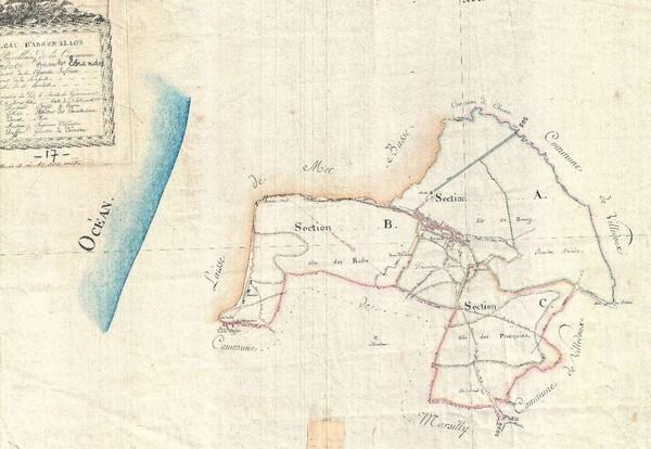 Pourquoi consulter les sites des archives départementales - Cadastre napoleon