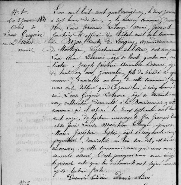 Pourquoi consulter les sites des archives départementales - Registres d'état civil