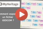 MyHeritage _ Comment exporter un fichier GEDCOM
