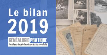 GenealogiePratique le bilan 2019