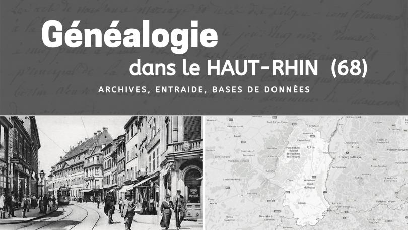 Généalogie dans le Haut-Rhin 68