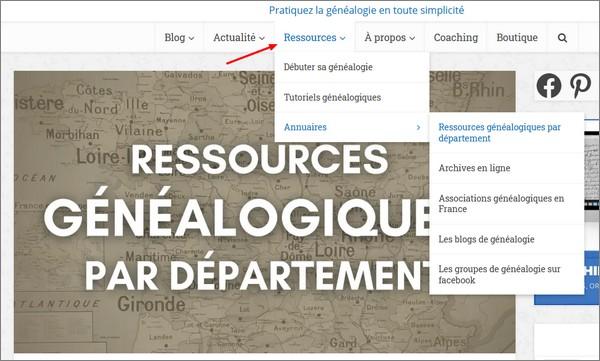 Généalogie Pratique - Bilan 2020 - Ressources généalogiques