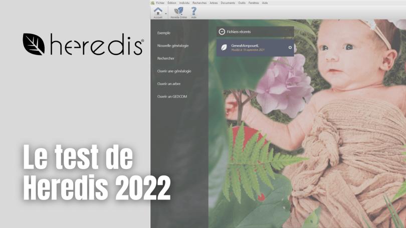 Le test de Heredis 2022