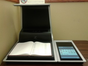 Overhead Book Scanner