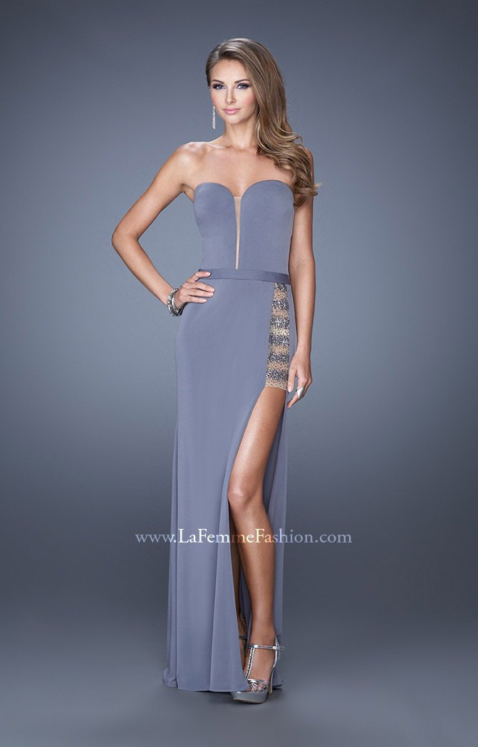 Side Corset Prom Dresses