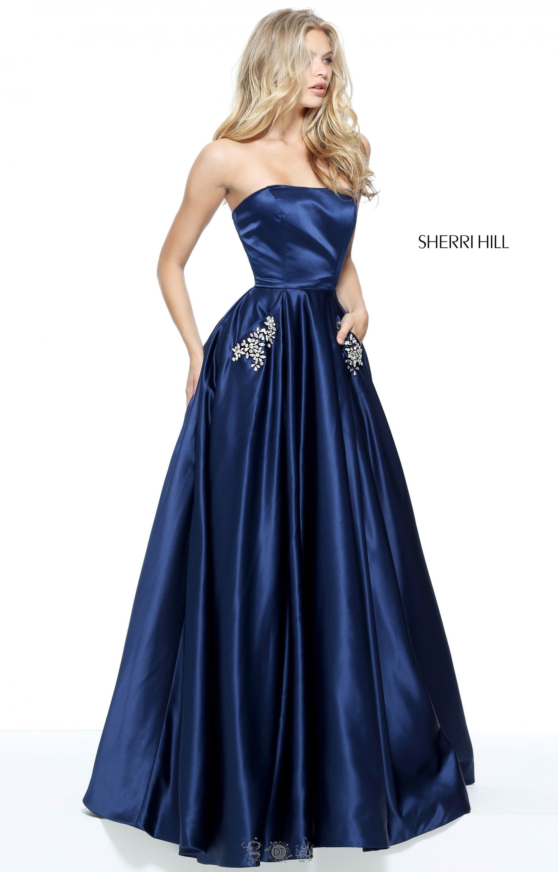 Blue Gown Navy Velvet Evening