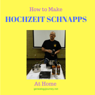 How to Make Hochzeit Schnapps at Home
