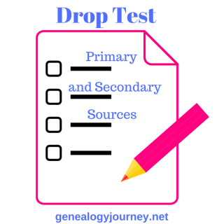 Drop Test: Primary and Secondary Sources