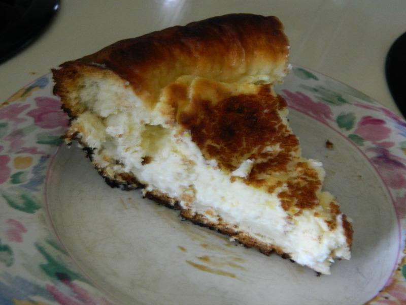 slice cheese kuchen