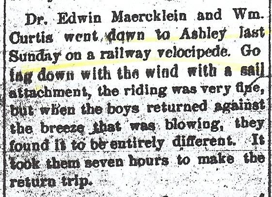 railway velocipede