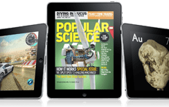Magazines on the iPad