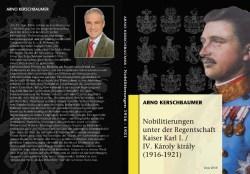 Titel- und Rückseite Nobilitierungen unter Kaiser karl I.