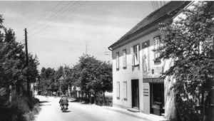 Kurcafe Kotzian 1950er