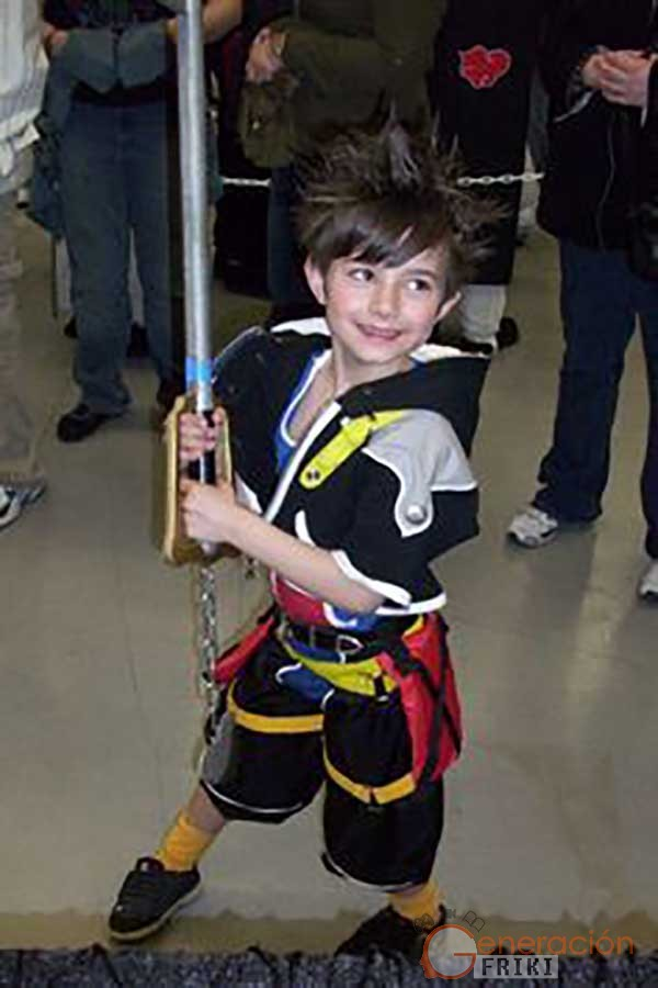 61-Niño-Sora (Kingdom Hearts)