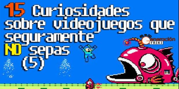 Curiosidades de videojuego 5 portada