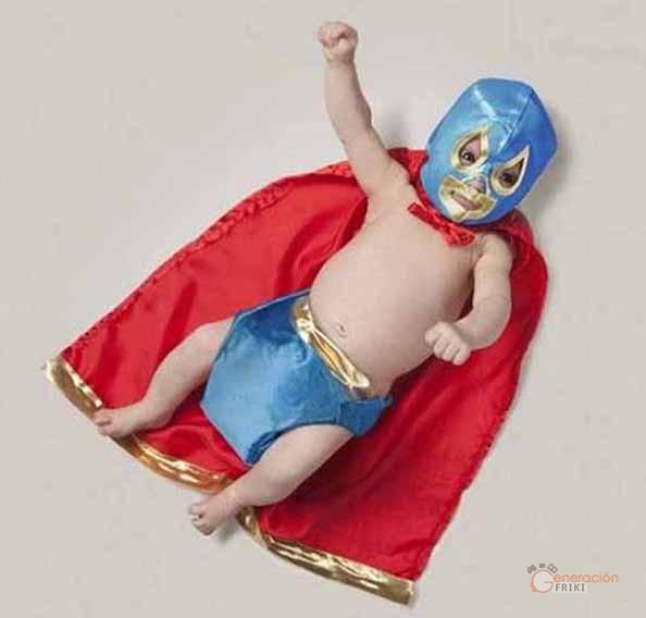 129-Bebe-luchador-mexicano-Flama-Solar
