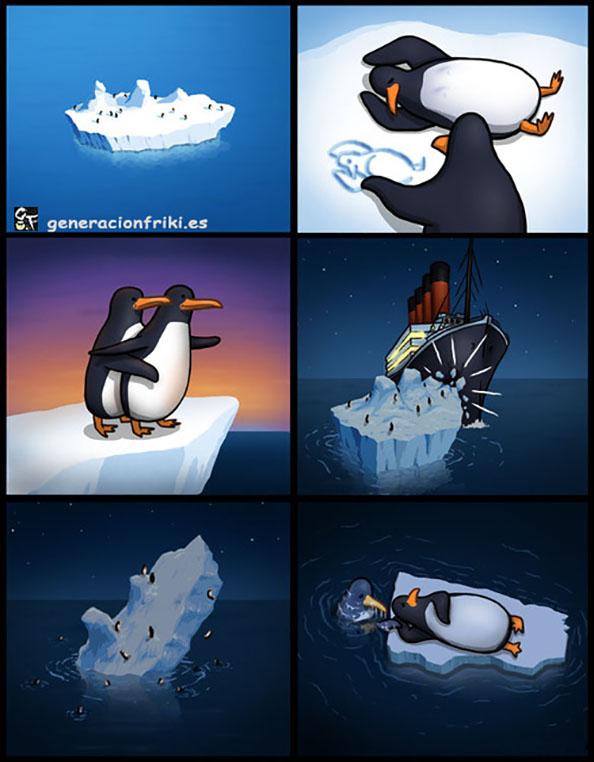 315) 10-04-14 titanic-pinguinos-Humor