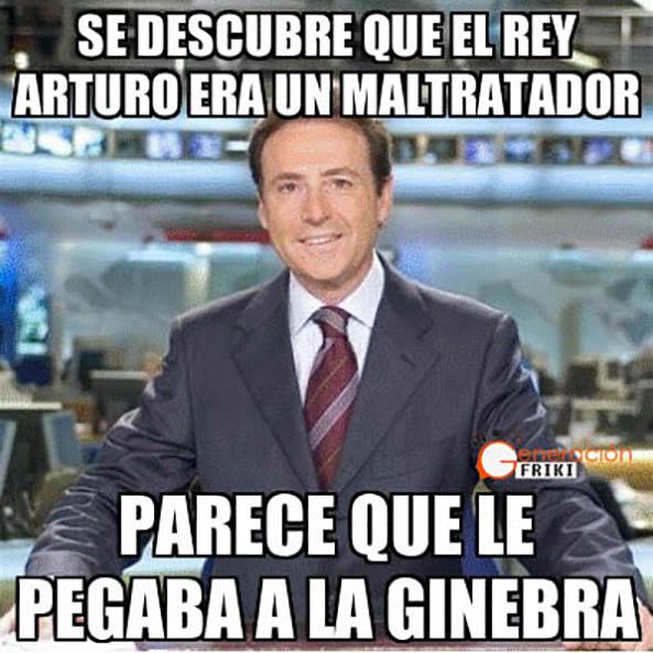 822 13 01 15 Matias Prats meme Arturo pega ginebra Humor el mejor humor de la semana imágenes graciosas y curiosas (xxx)